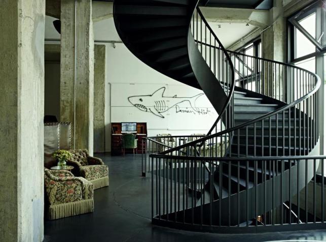 Soho House Berlin Lobby Hirst_2000x1493