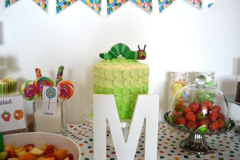 M's birthday cake made by deliciousmother!
