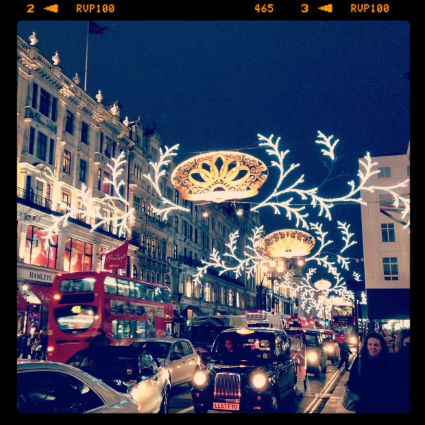 Christmas time in London via deliciousmother