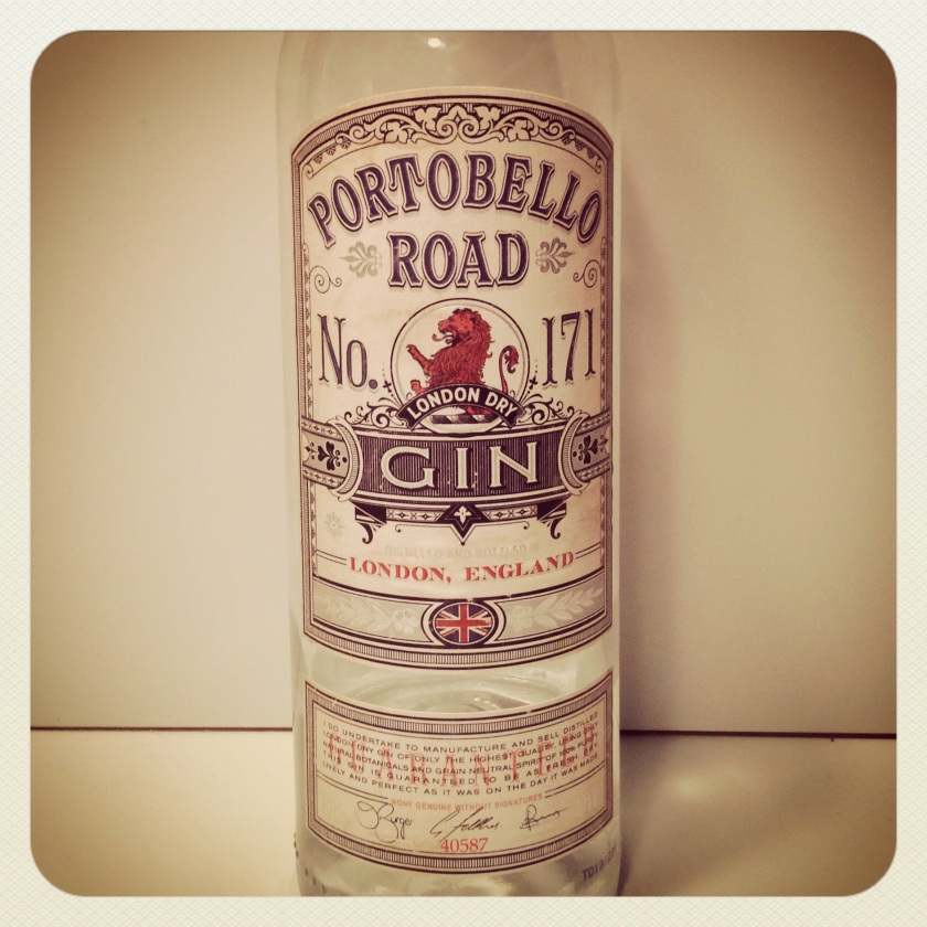 this is the second pic of alcohol featured on my blog... it's very good gin. via deliciousmother