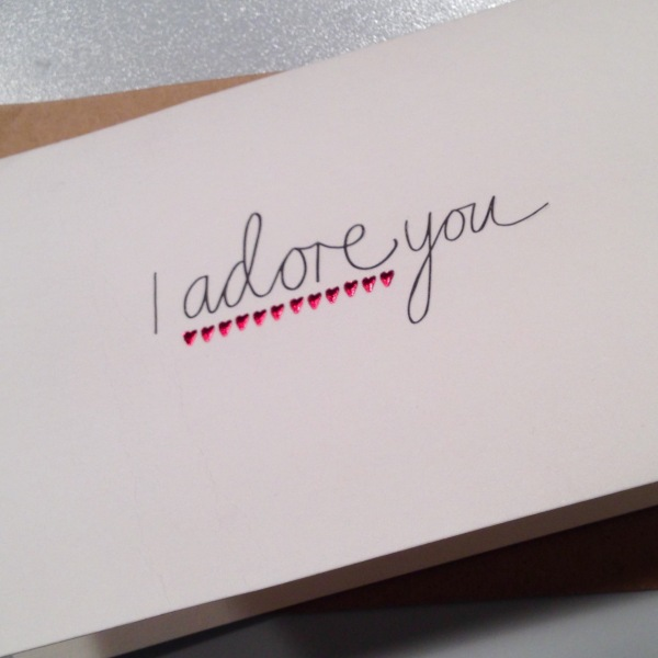 A cute card from Paperchase, available at Karstadt. via deliciousmother